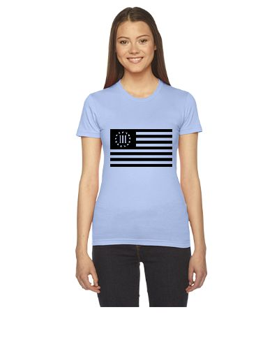 3 percenter flag - Women's Tee
