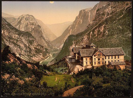 [Stalheim Hotel and Naerodalen, Hardanger Fjord, Norway