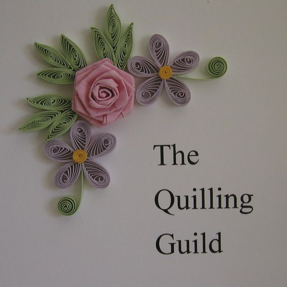 Claire's paper craft: paper quilling done for the Quilling Guild: Quilled Card, Cards Quilling, Paper Craft, Papercrafts Quilling, Quilling Card, Paper Quilling, Claire S Papercraft