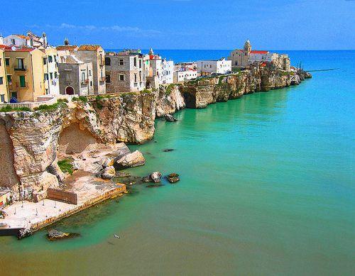 Edge of the Sea, Puglia,Italy