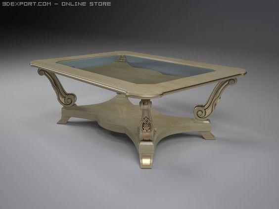 3D Model Table c4d, obj, 3ds, fbx, ma, lwo 19119