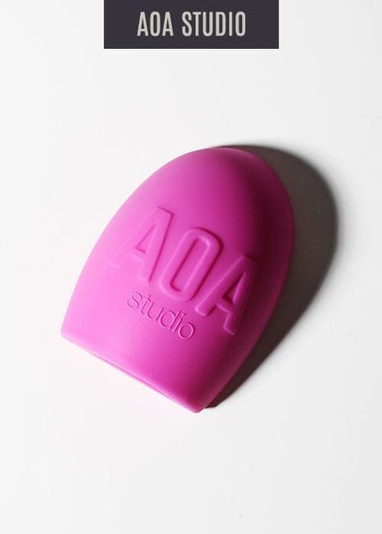 AOA Brush Cleaning Egg - Pink: