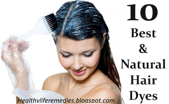 Best Natural Hair Dyes For Healthy Hair - Healthy Life And Beauty Tips
