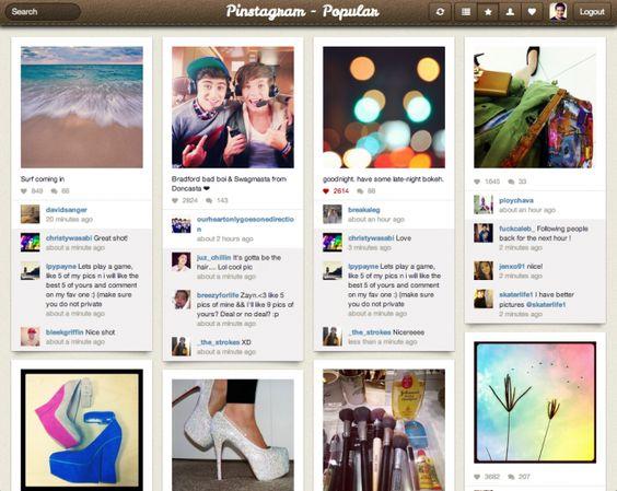 Pinterest + Instagram = Pinstagram:  Internet Site,  Website, Pinterest Pinstagram, Web Site, Facebook Pinstagram, Built Pinstagram, Pinstagram App, Pinstagram Pinterest