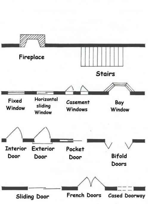 Floor Plan Symbols Symbols Pinterest Follow me