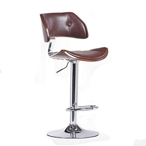 Modern Barstools 24 Inch Swivel Stool High Stool With Backs Solid