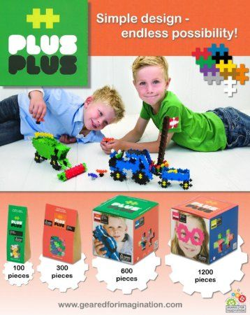 Plus-Plus 03310 600 Piece Basic Toy Set, Building Sets - Amazon Canada