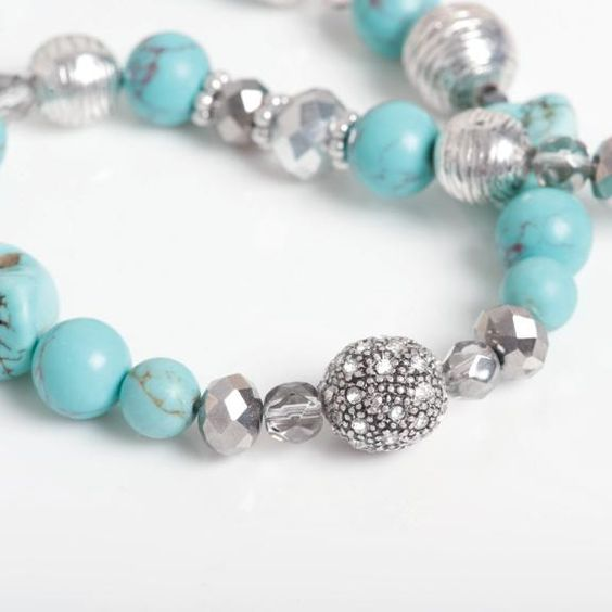 Turquoise Delight collier - ALLE COLLIERS - COLLIERS - AC Sieraden