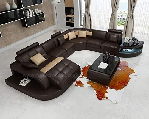 Echo Series Customise Full Leather Large Modern U Shaped Leather Sofa Josef S Furniture Curved Sofa Living Room Leather Sofa Living Room Leather Curved Sofa