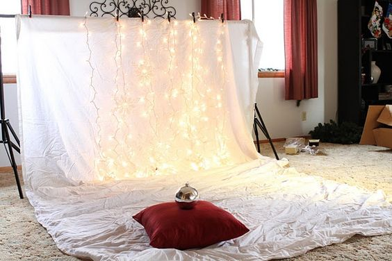 photography props and backgrounds | christmas lights background | Photography DIY props and backgrounds