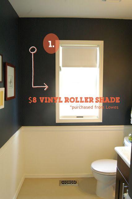 Diy Fabric Roller Shade Diy E Pinterest Sew No Sew