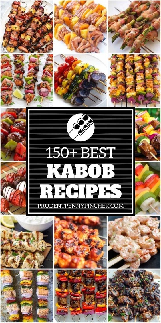 150 Best Kabob Recipes