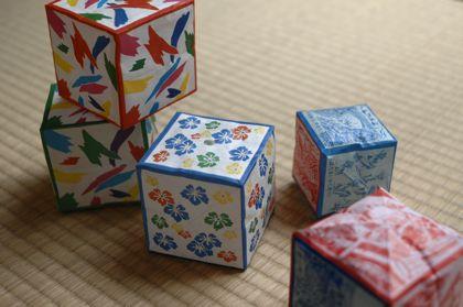 手作り紙風船