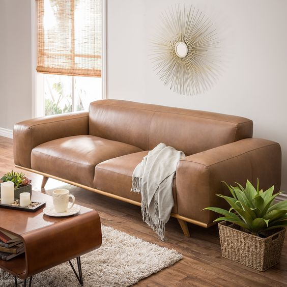 Mua sofa da thật ở đâu và cách chọn một bộ sofa da phù hợp nhất