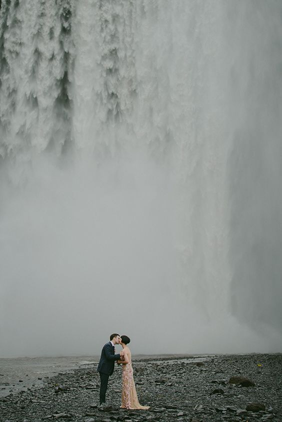 An Iceland Wedding of Sheer Wild Beauty
