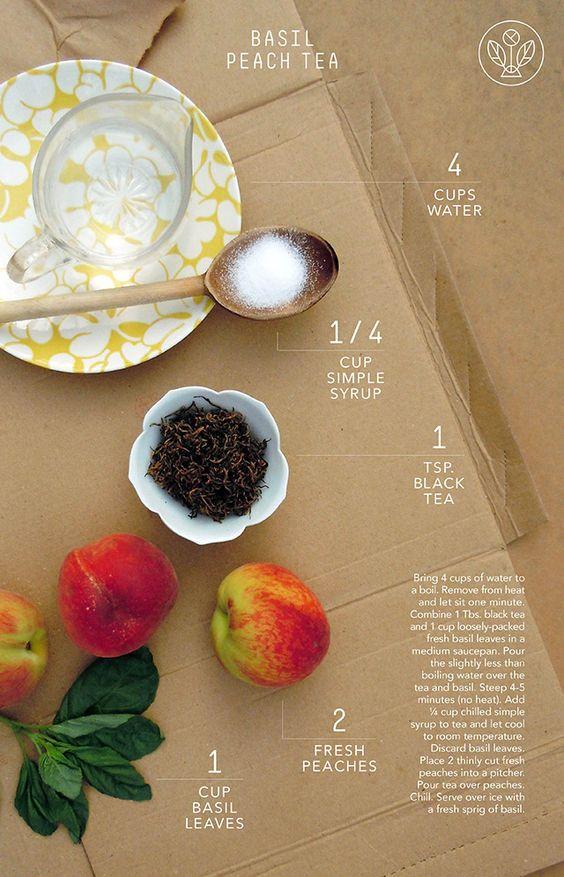 Receitas Sazonais de Chá | Trilhas de Chá