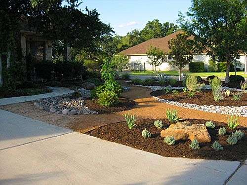 Austin Residential Landscape Photos Austin Landscape Supplies Front Yard Landscaping Design Landscaping With Rocks Landscaping Austin