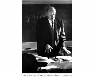 """Theodore Roethke: """"what's madness but nobility of soul/ At odds with circumstance"""""""