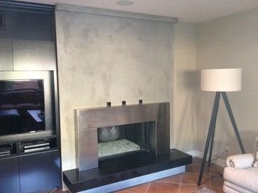 Check Out This Beautiful Venetian Plaster Fireplace At Parks Plaster Stucco We Offer All