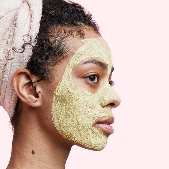 Sheet Mask X Mascara Em Creme Qual Escolher Revista Glamour Giga Medical Turmeric Face Mask Skin Care Mask Coconut Oil Face Mask