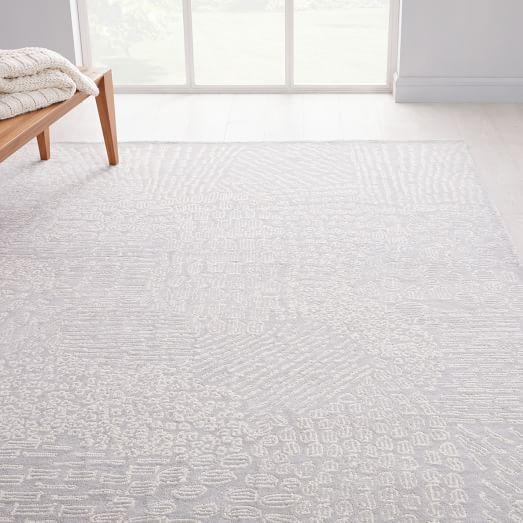 Dot Dash Rug Frost Gray 9 X12 West Elm Rugs Bedroom Carpet Diy Carpet