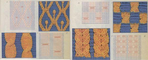 Todo para Crear ... : Diseños en relieve en crochet