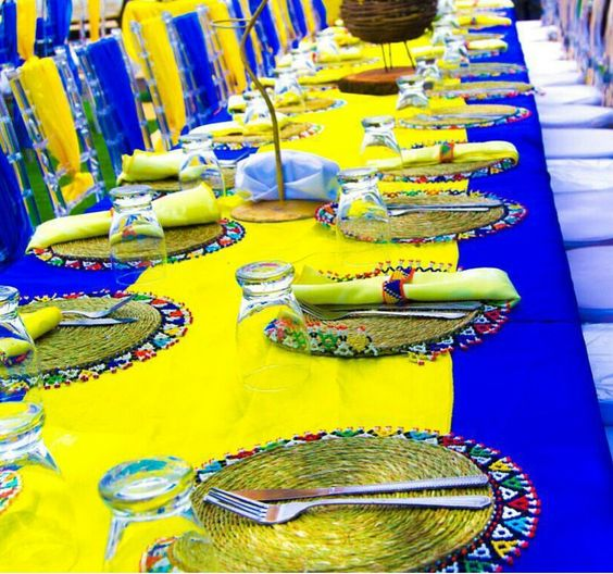 Sepedi traditional wedding decor pictures