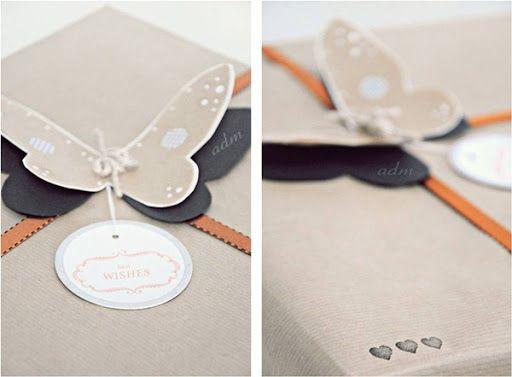 Fácil y Sencillo: Regalo de álbum y Butterfly Packaging