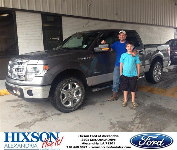 Congratulations to Bobby Bordelon on your new truck  purchase from Andrew Montreuil at Hixson Ford of Alexandria! #HixsonHasIt