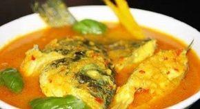 Resep Ikan Kakap Merah Kuah Kuning Tanpa Santan Resep Ikan Resep Masakan Masakan