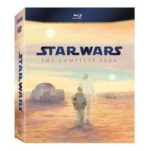 Star Wars: The Complete Saga (Episodes I-VI) [Blu-ray].  The full box-set with the bonus disc filled with extras not included on the single 3 movie editions.  This is the best way to see Star Wars other than in a movie theater!  A must own!