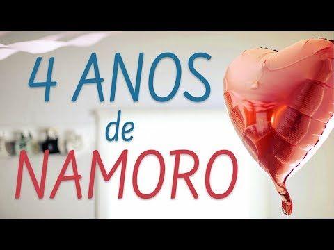 Mensagem De Aniversario De Namoro Parabens Por 4 Anos Youtube