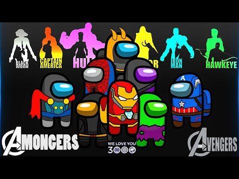 Among Us But It S Avengers Amongers Avenger X Among Us Among Us Superhero Youtube Avengers Superhero Marvel