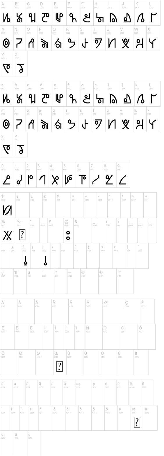 46 Best Fictional Alphabets images | Fontes, Desenhos ...