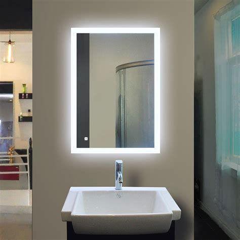 Backlit Bathroom Mirror, Bathroom Vanity Mirror With Lights