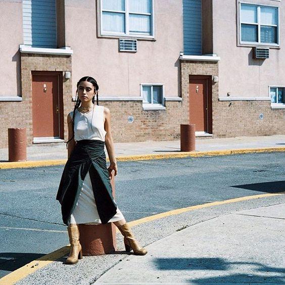 #daily — #AlexPenagos shot by @alexleenyc on sickymagazine.com ⛅️ Fashion #LeziZita @golden.frog • Hair & Make-Up #LeziZita • Clothes @golden.frog • Jewelry @nandi.naya — #editorial #fashion #woman #girl #model #beauty #art #love #fall #online #sickymagazine