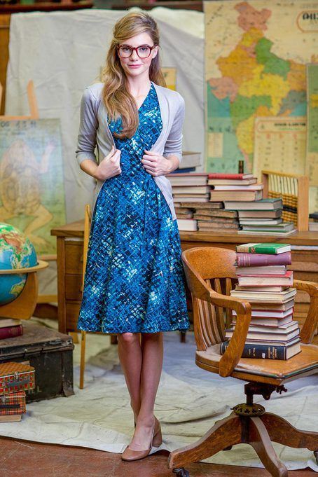 Monet Dress by Shabby Apple (except wrap dresses only look good very skinny…