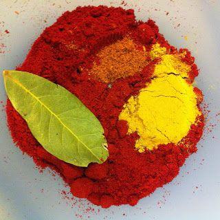 Cauliflower paella - spice base