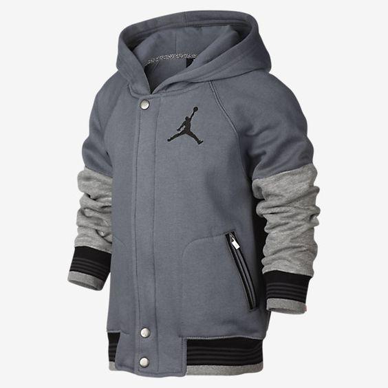 Jordan Varsity Full-Zip Preschool Boys' Hoodie