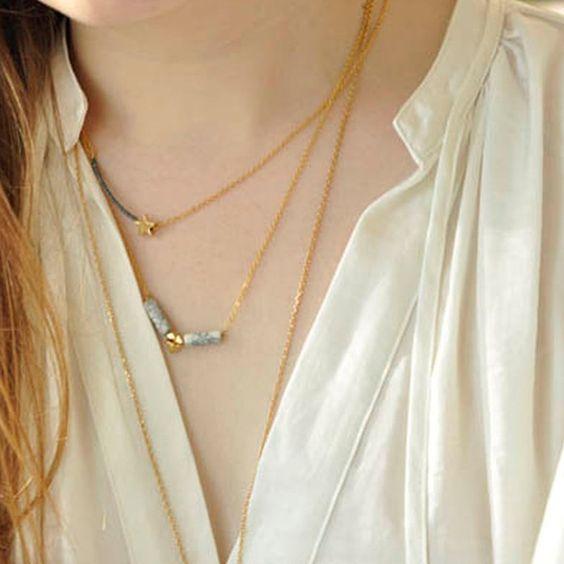 Tips Necklace - Azucar Bijoux