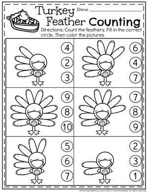 41++ Pre k thanksgiving worksheets Online