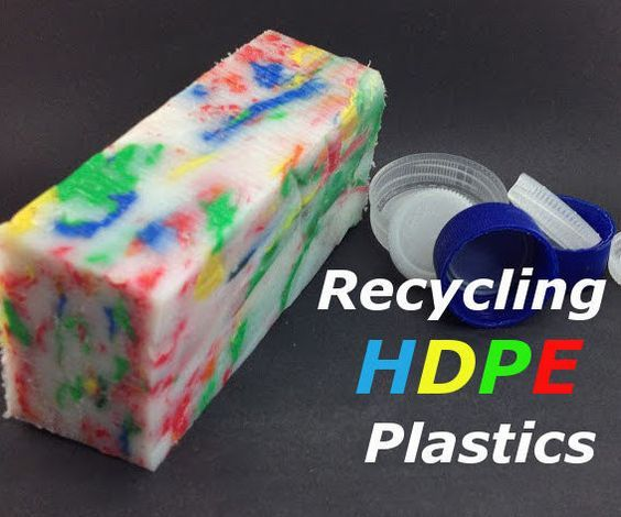 How To Recycle Hdpe Plastic The Easy Way Upcycle Plastic Hdpe Plastic Plastic Bottle Tops