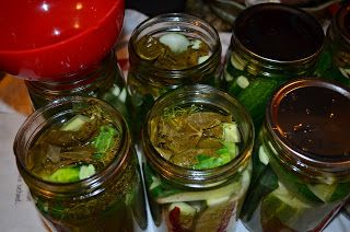 More spicy pickles....