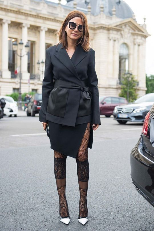 Street style from the haute couture autumn/winter fashion show in Paris: