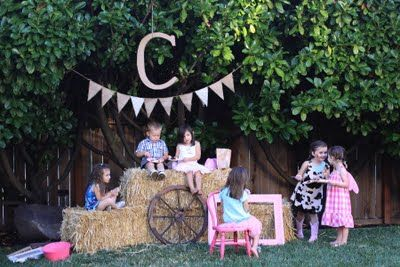 Vintage Cowgirl Party - yes, please.