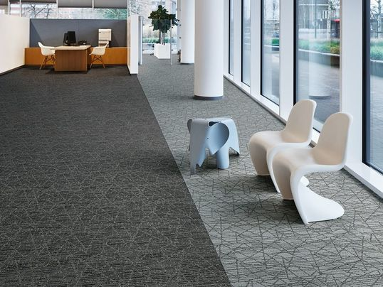Tessera Nexus Carpet Tiles By Forbo Flooring Office Interior