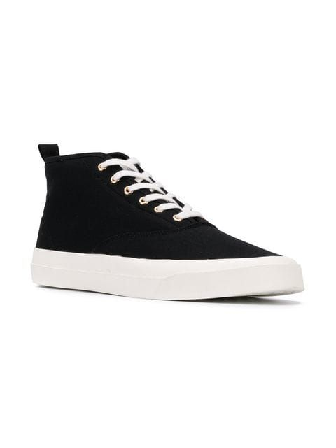 Maison Kitsuné Höga Sneakers Farfetch   Höga sneakers