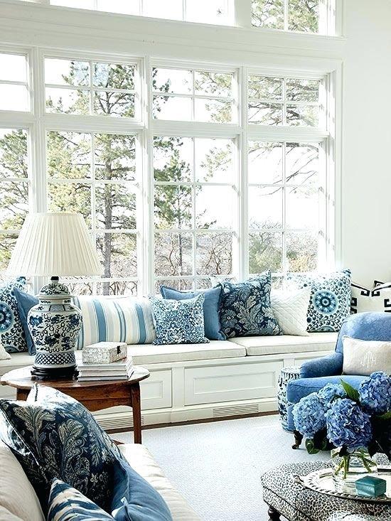 Blaue Wohnzimmer Verzierungsideen Blue Rooms French Country