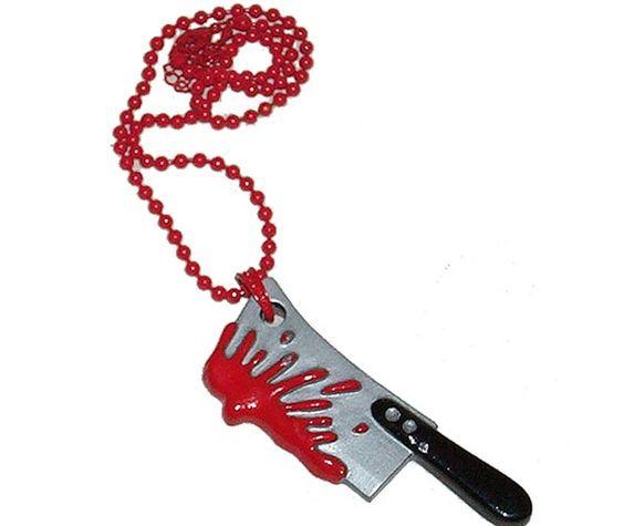 Kreepsville 666 Bloody Cleaver Necklace