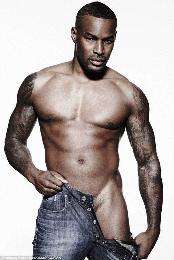 Oh hello there Tyson Beckford. Can you please take off the other leg!!!